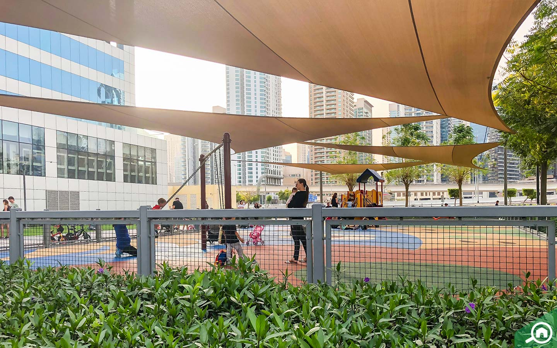 park near jumeirah bay x1